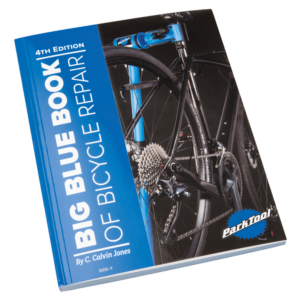 Park Tool BBB-4 Blue Repair Book NEW 4TH EDITION - TheBikesmiths