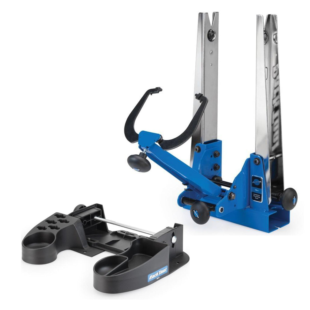 Park Tool TS-4 & TSB-4 Base + Professional Wheel Truing Stand