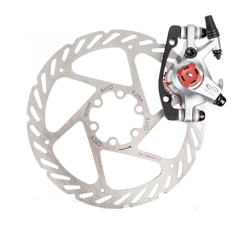 Image of Avid BB5 Front / Rear Mechanical 160mm Road Bike Disc Brake - TheBikesmiths