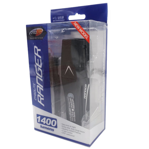 Cygolite Ranger 1400 Lumens USB Rechargeable Headlight - TheBikesmiths