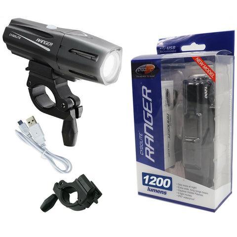 Image of Cygolite Ranger 1200 Lumens USB Headlight - TheBikesmiths