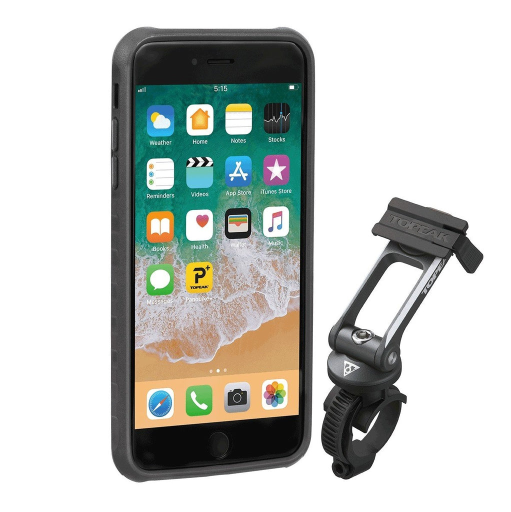 Topeak Ridecase with Mount Fits iPhone 8+/7+/6S+/6+ - TheBikesmiths