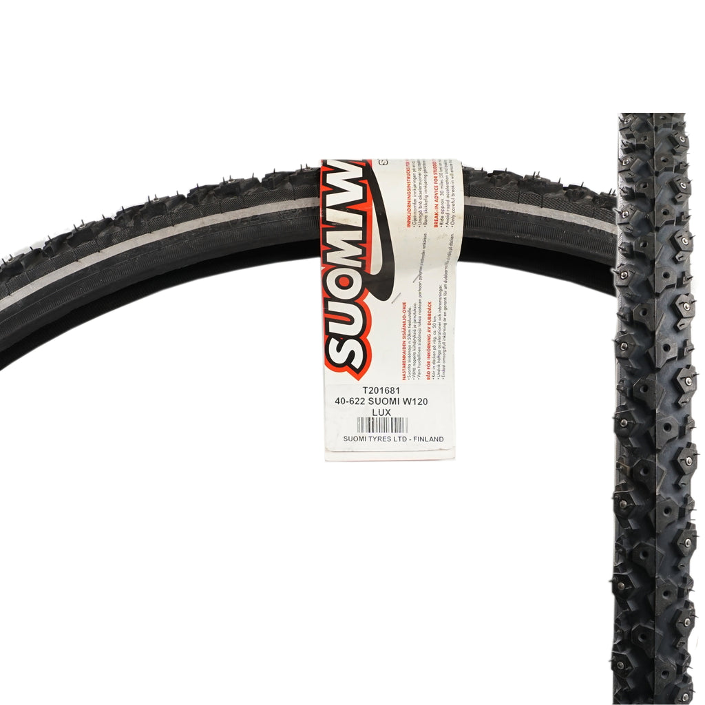 Nokian T201681 Suomi W120 700x40c Studded Reflective Tire - TheBikesmiths