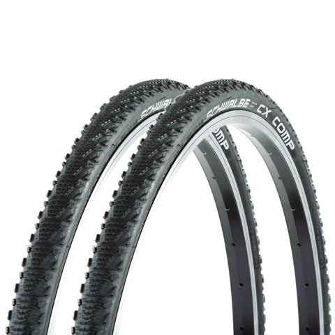 Image of Schwalbe CX Comp 700x30c Hardpack Gravel GreenGuard Tire