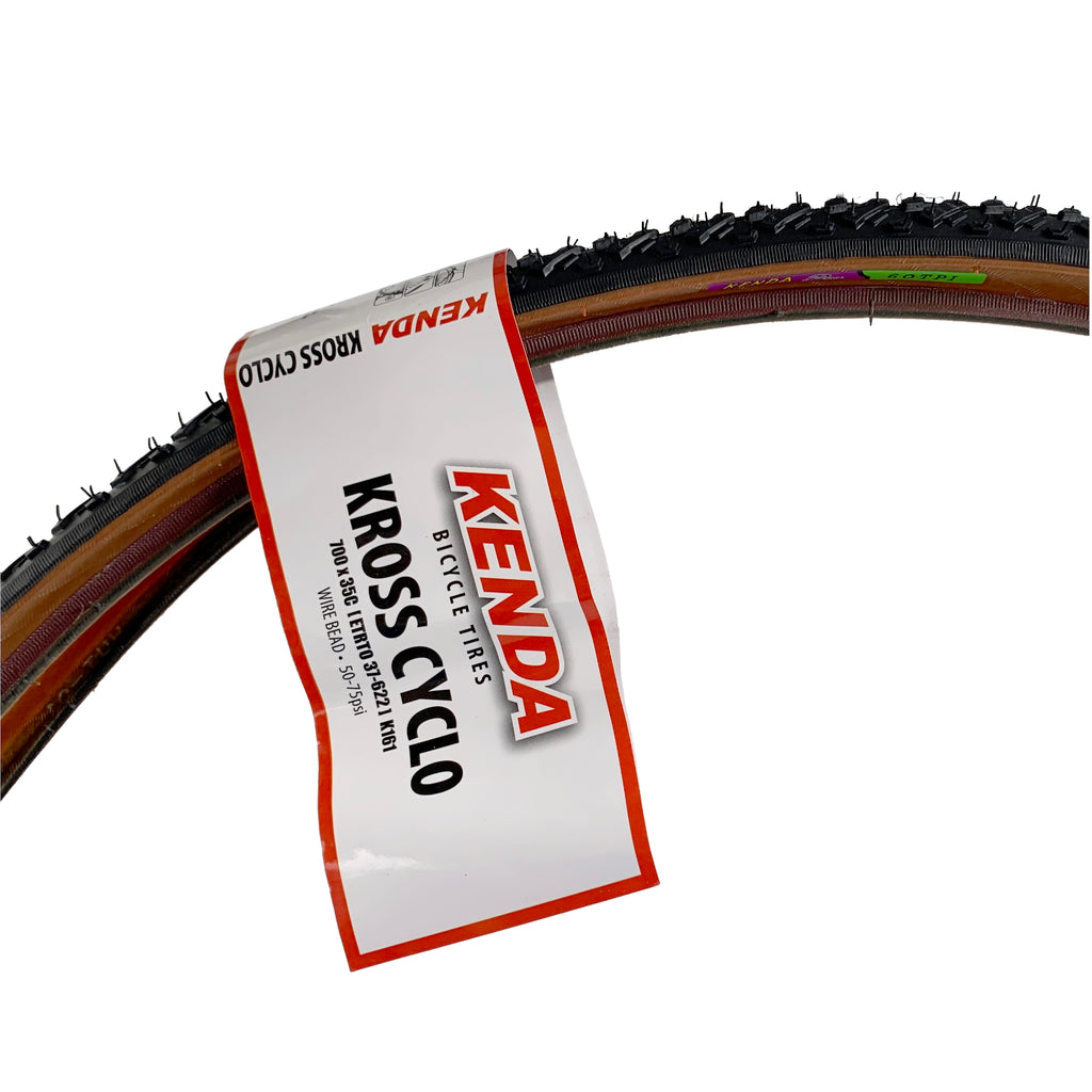 Kenda Kross Cyclo 700x35 Mocha Sidewall Tire