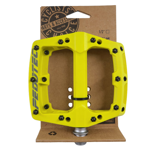 Image of Pedotec Thunder 180 Sealed-Bearings Thermo Large Pro Platform Pedals