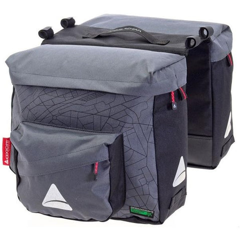 Image of Axiom Seymour Oceanweave Twin P25 Panniers - TheBikesmiths