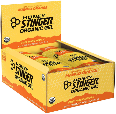 Honey Stinger Organic Energy Gel 24 Box