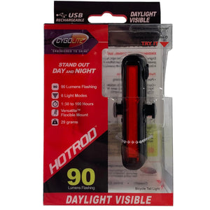 Cygolite Hotrod 90 USB Rechargeable Rear Tail Light