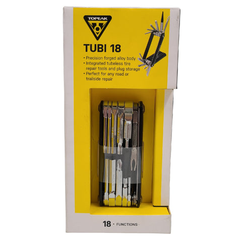 Image of Topeak TUBI 18 Multi-Tool With Tubeless Tire Repair
