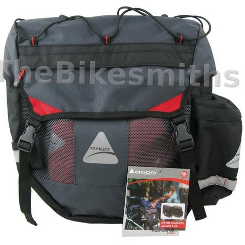 Image of Axiom Cartier DLX P26+ Panniers - TheBikesmiths