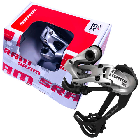 Image of SRAM X5 9 Speed Rear Derailleur Medium Cage