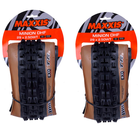 Image of Maxxis Minion DHF 29x2.50 TR Tubeless Ready Folding Tanwall Tire