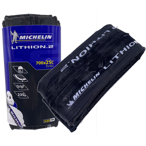 Michelin Lithion 2 700x25 Folding Tire Training