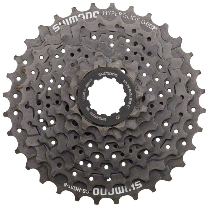 Shimano CS-HG31 8 Speed Cassette 11-32 Black