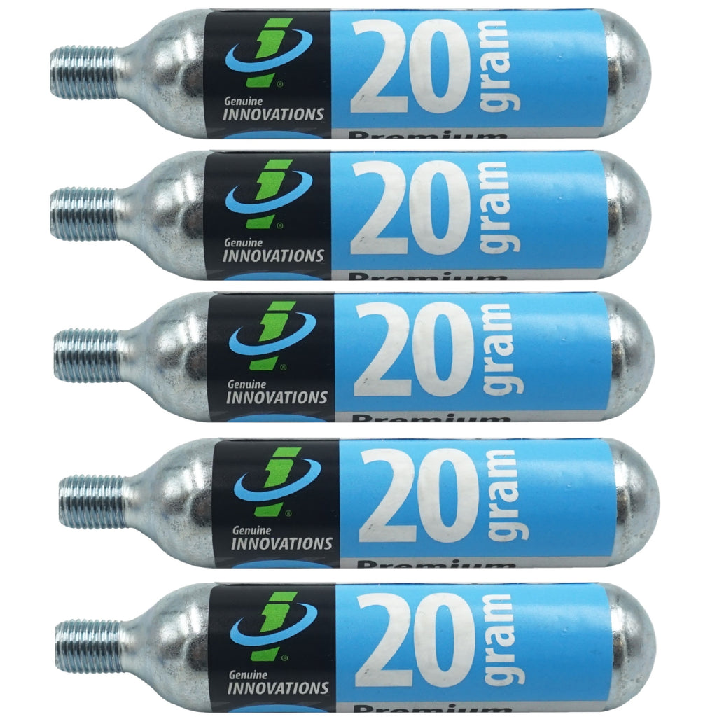 Genuine Innovations G2134 20g CO2 Threaded Cartridge - TheBikesmiths