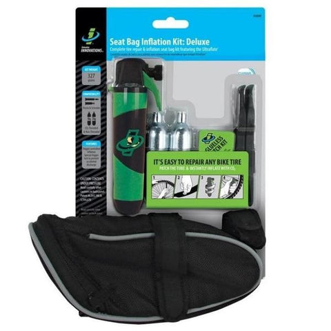 Genuine Innovations G20309 Deluxe Co2 Inflation Kit w-Seat Bag