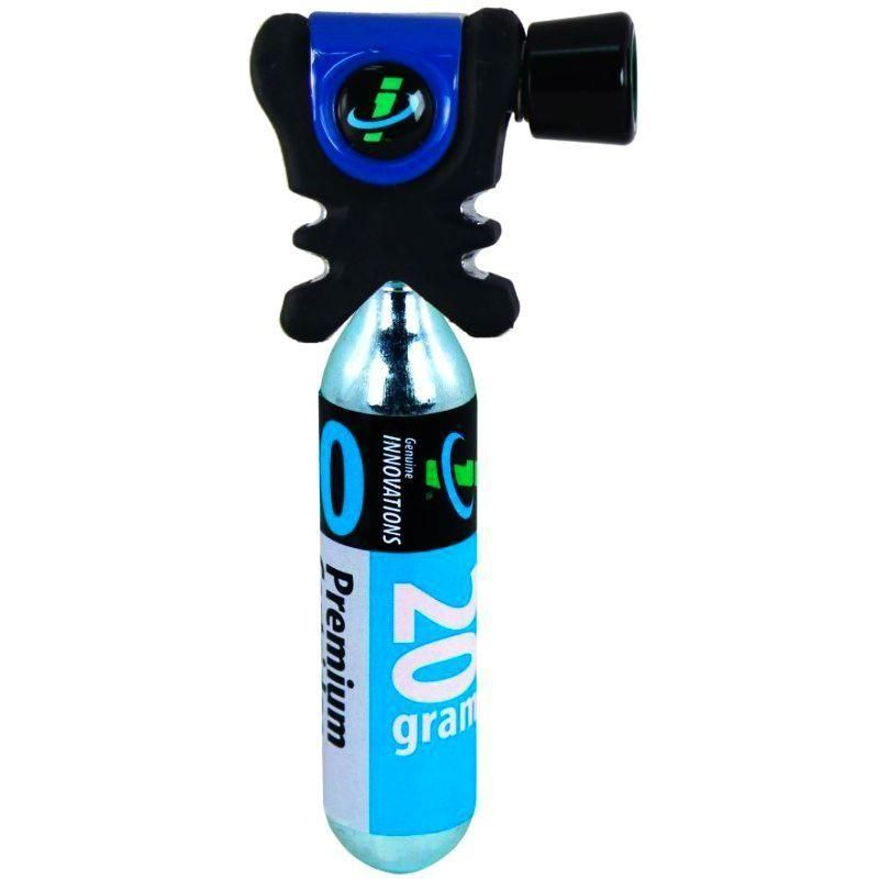 Genuine Innovations Air Chuck Plus CO2 Inflator w-1 20g Cartridge - TheBikesmiths