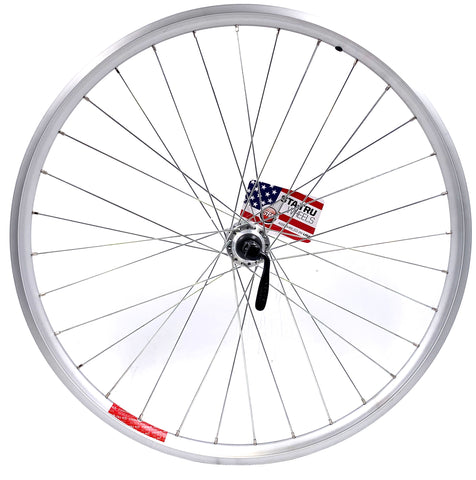 Image of STA-Tru 26-inch Front or Rear Mountain Bike Doublewall Wheel Aluminum QR