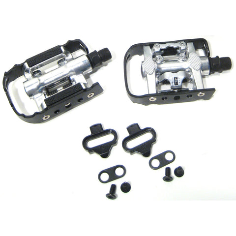 Wellgo C002 1 Side SPD Clipless / 1 Side Platform Pedals - TheBikesmiths