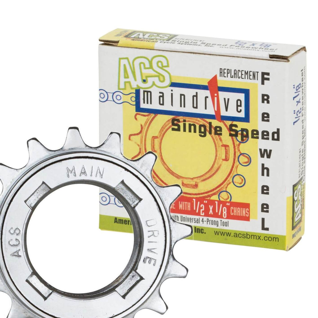 "ACS Main Drive 1/8"" Freewheel - TheBikesmiths"