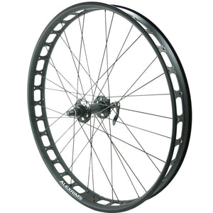 Alex Blizzerk 70 FRONT 135mm Fat Bike Wheel Tubeless Ready - TheBikesmiths