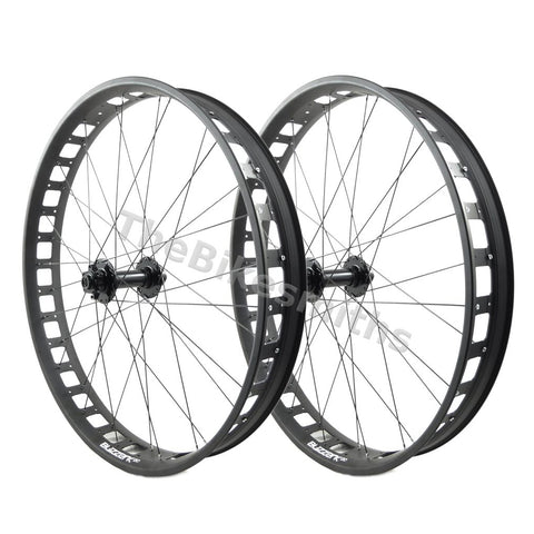 Image of Alex Blizzerk 80 15x150 12x197 Fat Bike Wheelset - TheBikesmiths