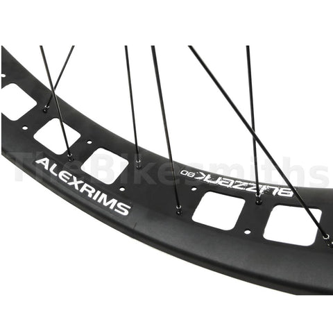 Image of Alex Blizzerk 80 Formula 150mm TA Front 190mm QR Rear Fat Bike Wheelset - TheBikesmiths
