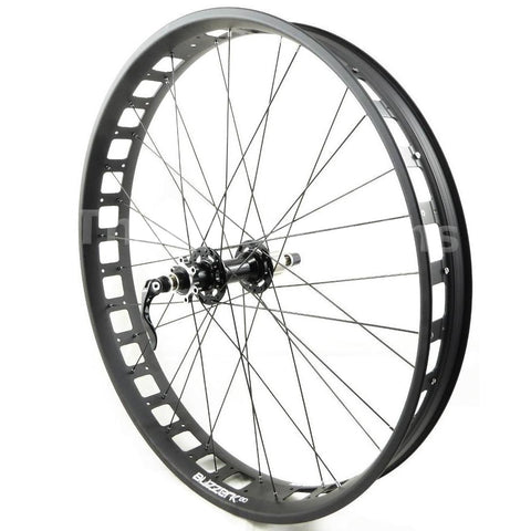 Alex Blizzerk 80 Novatec 170mm Fat Bike Rear Wheel - TheBikesmiths