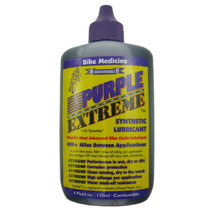 Bike Medicine Purple Extreme Chain Lubricant 4oz - TheBikesmiths