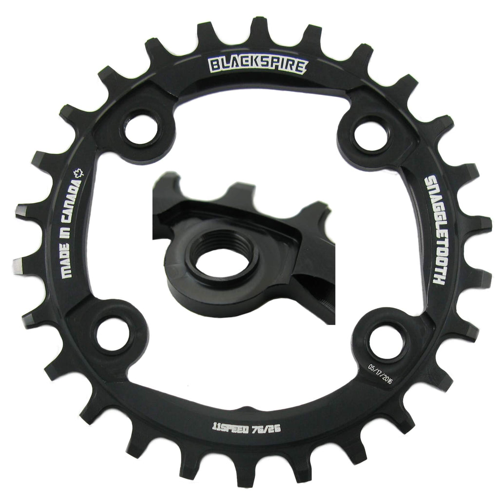 Blackspire Snaggletooth Narrow Wide 76mm BCD Chainring - TheBikesmiths