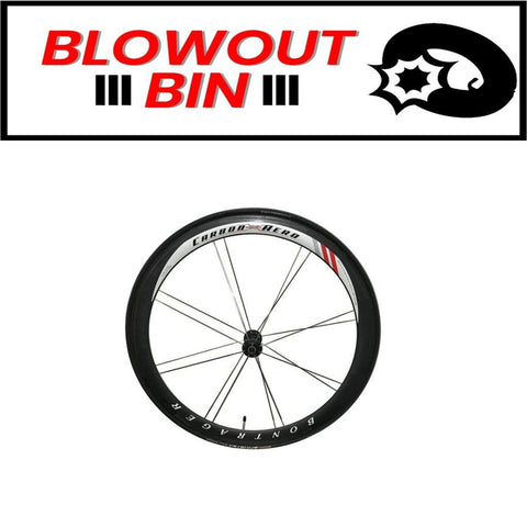 Bontrager Carbon X Aero Race Lite FRONT Wheel w/ Continental Sprinter 22mm Tubular Tire - TheBikesmiths