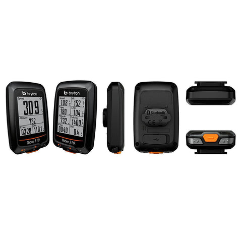 Bryton Rider 310E GPS Wireless ANT+ Cycle Computer - TheBikesmiths