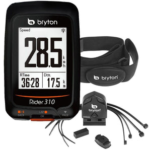 Bryton Rider 310T GPS-Cadence-Heart Rate Wireless Computer - TheBikesmiths