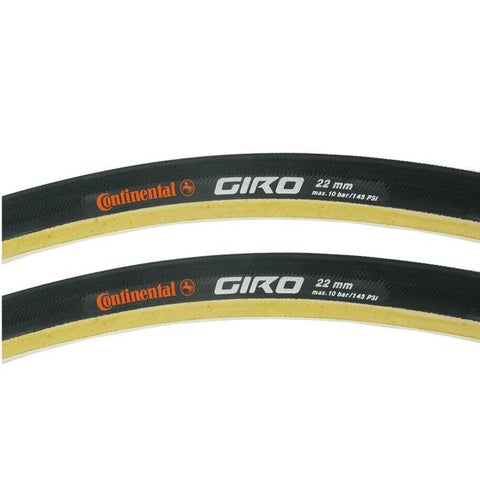 Image of Continental Giro Tubular Tire 700x22c Skinwall - TheBikesmiths