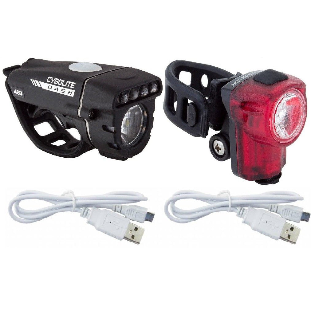 Cygolite Dash 460 - Hotshot Micro 30 Rechargeable Light Set - TheBikesmiths