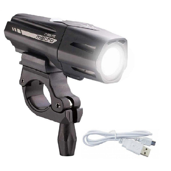 Cygolite Metro Plus 650 Lumen Rechargeable Headlight - TheBikesmiths