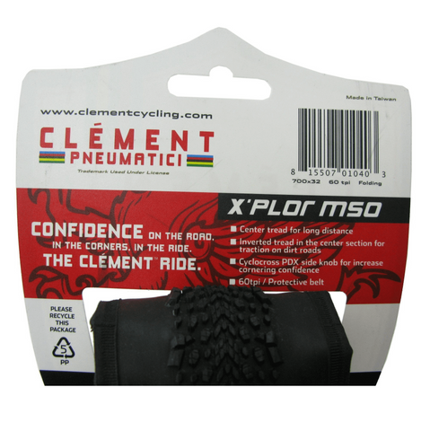 Image of Clement X'Plor MSO 700x32 Folding Tire - TheBikesmiths