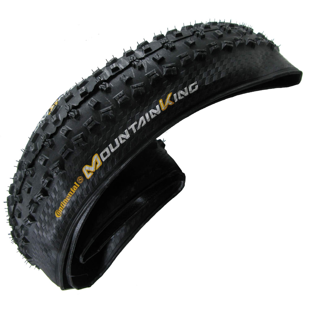 "Continental Mountain King II 26"" Tubeless Ready Folding Tire 2-pack - TheBikesmiths"