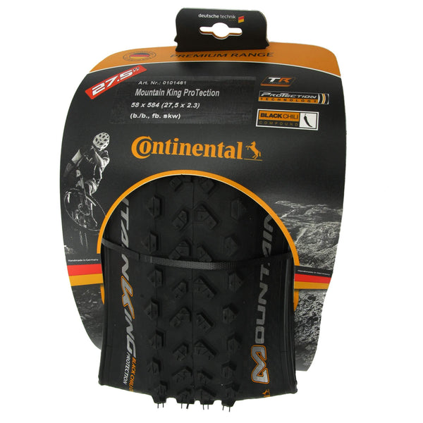 Continental Mountain King 27.5 x 2.3 Tubeless Ready Folding Tire - Single - TheBikesmiths