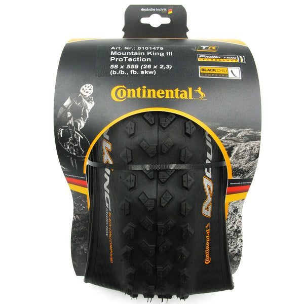 Continental Mountain King III 26 x 2.3 Folding Tire - TheBikesmiths