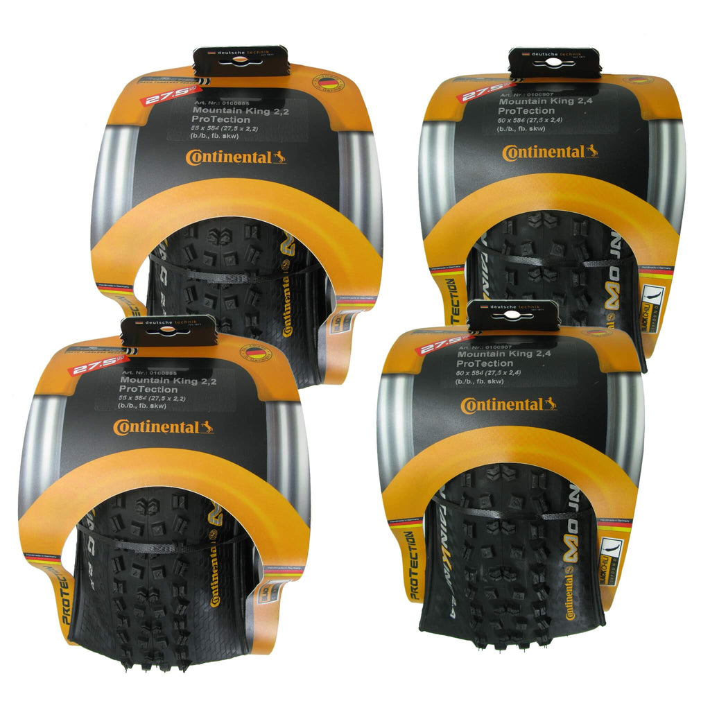 "Continental Mountain King II 27.5"" Tubeless Ready Tire - 2 Pack - TheBikesmiths"