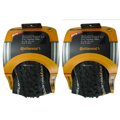 "Image of Continental Mountain King II 26"" Tubeless Ready Folding Tire 2-pack - TheBikesmiths"