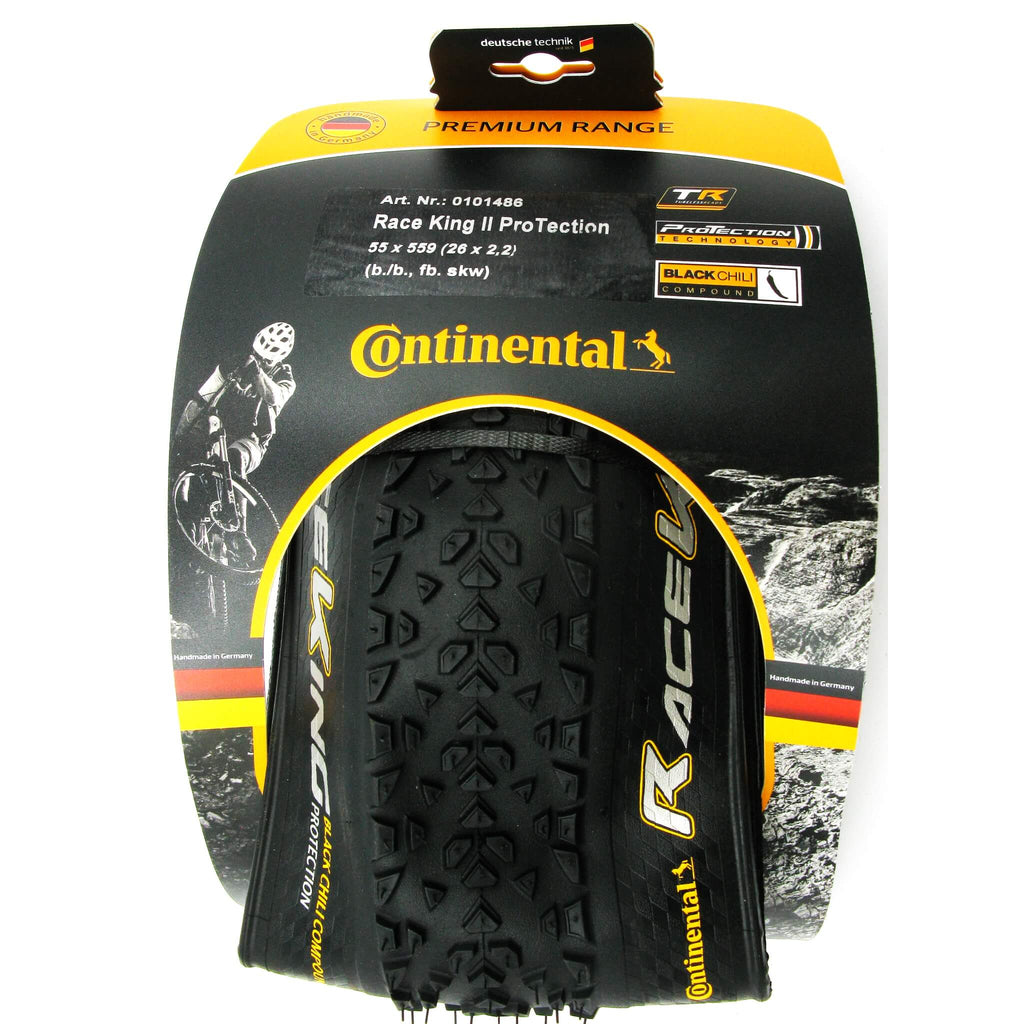 Continental Race King II 26 x 2.2 Tubeless Ready Folding Tire - TheBikesmiths