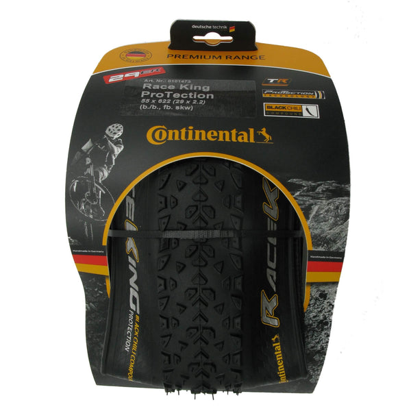 Continental Race King ProTection 29x2.2 Tubeless Ready Folding Tire - Single - TheBikesmiths