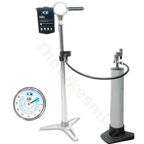 Image of Crank Brothers Klic Floor Pump + Burst Tank - TheBikesmiths