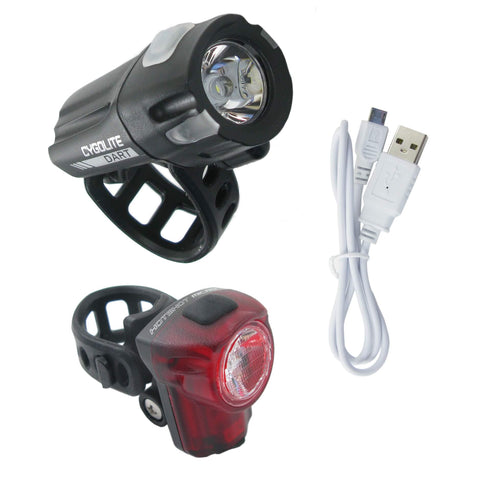 Image of Cygolite Dart 210 Headlight and Hotshot Micro 30 Taillight Set - TheBikesmiths