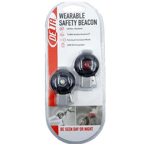 Image of Delta Wearable Safety Beacon Light - TheBikesmiths