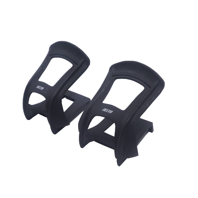 Delta Pair Half Toe Black Nylon Resin Clips