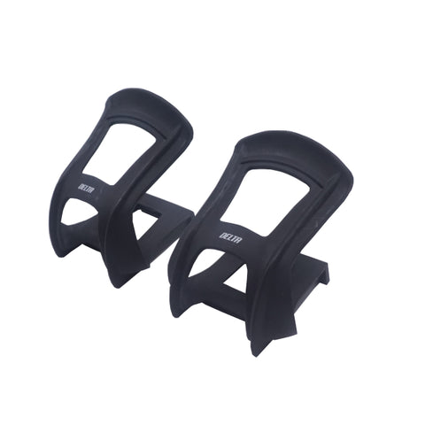 Image of Delta Pair Half Toe Black Nylon Resin Clips